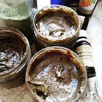 Марокканское черное  мыло  с лавандой и эвкалиптом 120 мл