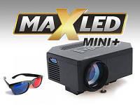 Проектор LED 3D HDMI USB MAXLED MINI !