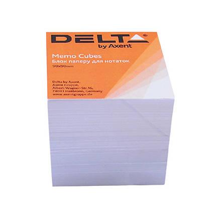 Бумага для заметок Delta D8005, 90х90х80 мм, непроклееная, 1000 листов, фото 2