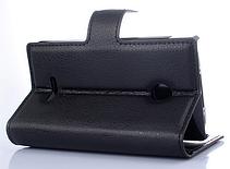 Кожаный чехол книжка для  Nokia Lumia 435/532 черный, фото 3