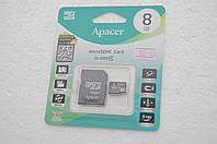 Карта памяти 8Gb class 4 microSD Apacer