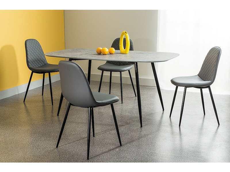 Стул металлический Teo C серый: продажа и доставка по Украине, оплата при получении. Другие стулья и кресла от