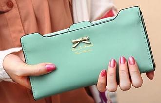 Розкішний жіночий гаманець клатч портмоне зелений