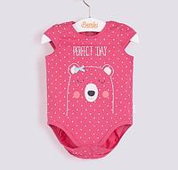 Бодик без рукавов для новорожденных деток