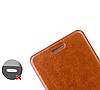 Кожаный чехол книжка MOFI Lenovo A8 A806 A808T коричневый, фото 3