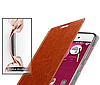 Кожаный чехол книжка MOFI Lenovo A8 A806 A808T коричневый, фото 4