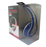 Наушники Ditmo DM-2590 съемный кабель, синие