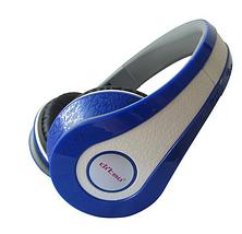 Наушники Ditmo DM-2590 съемный кабель, синие, фото 2