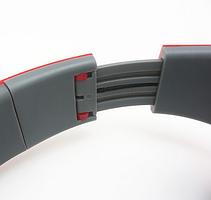 Наушники Ditmo DM-2590 съемный кабель, синие, фото 3