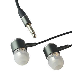 Наушники вакуумные BRUM M-8, с микрофоном, черные, фото 2