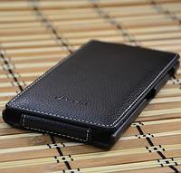 Кожаный чехол-флип Melkco для Lenovo K900 черный