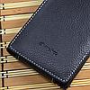 Кожаный чехол-флип Melkco для Lenovo K900 черный, фото 2