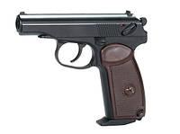 Пистолет пневматический KWC Makarov Blowback [KMB44AHN]