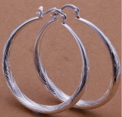Серебренные сережки, фото 2