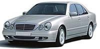 Хром накладки Mercedes w210 (1996-2001)