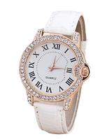 Стильные кварцевые женские часы черные