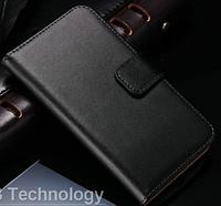 Кожаный чехол-книжка для Samsung Galaxy S3 i9300 черный