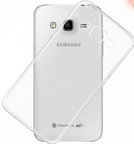 Чехол бампер для Samsung Galaxy J5 2016 J510 J510F J510G J510Y J510M прозрачный, фото 2