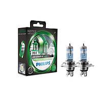 Галогенновые лампы Philips ColorVision Green H4 12342CVPGS2.