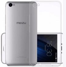 Чехол бампер для Meizu U10 прозрачный