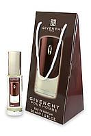 Мужской мини-парфюм Givenchy pour homme (Живанши Пур Хoм), 30 мл в подарочной упаковке