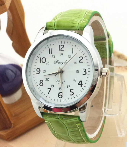 Стильные кварцевые женские часы, фото 2