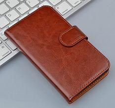 Чехол книжка для  Nokia XL коричневый