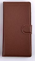 Чехол книжка для  Nokia Lumia 730, 735 коричневый