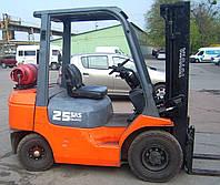 Газовый погрузчик б/у Toyota 42-7FGF25