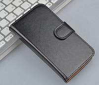 Кожаный чехол книжка для  Lenovo P770 черный