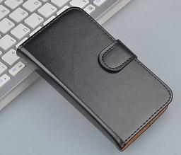 Шкіряний чохол книжка для Lenovo P770 чорний