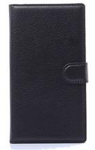 Шкіряний чохол-книжка для Lenovo A319 чорний