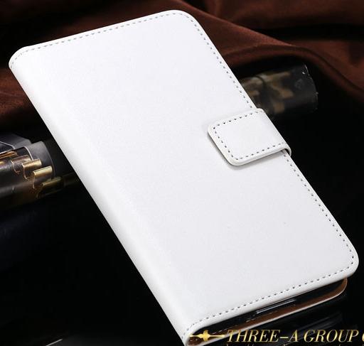 Кожаный чехол-книжка для Samsung Galaxy S5 i9600 SM-G900 белый