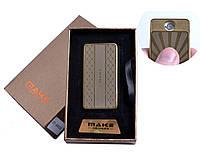 Спиральная USB зажигалка Make №4695-9, практичное приобретение, модный девайс, работает в любую погоду