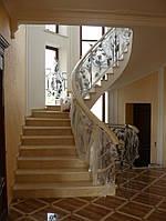Изготовление лестниц из мрамора, фото 1