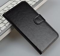 Кожаный чехол-книжка для Xiaomi MI3 M3  черный