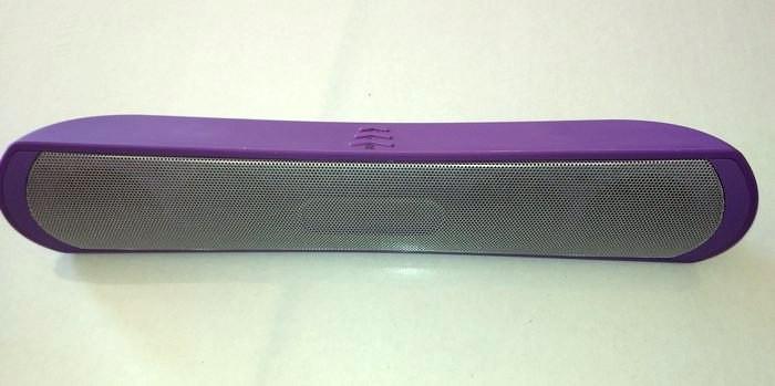 Портативная Bluetooth колонка BE-13 фиолетовый