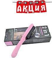 Расческа выпрямитель PTC Hair Brush. АКЦИЯ