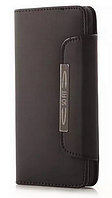 Кожаный чехол-книжка для Samsung Galaxy Alpha G850S G850 G8508S черный