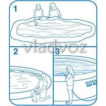 Семейный наливной бассейн Intex 244-76см 56970 / 28110, фото 2