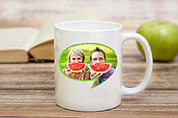 Чашка с семейной фотографией