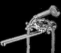 Смеситель для ванны с длинным гусаком Florence 106 ASCO armatura