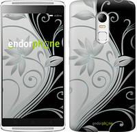 """Чохол на Lenovo Vibe K5 Note pro Квіти на чорно-білому тлі """"840c-394"""""""