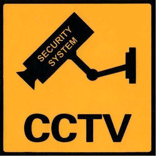Наклейка стикер CCTV