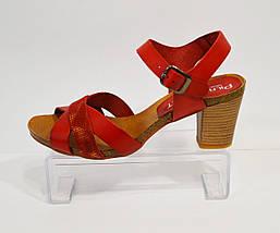 Красные женские босоножки Pilar Monet , фото 2