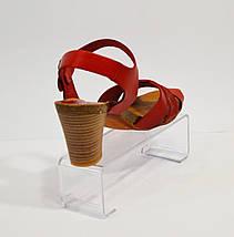 Красные женские босоножки Pilar Monet , фото 3