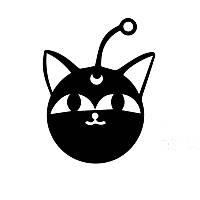 Виниловая наклейка-кот 098