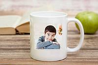 Чашка с фото для ребенка
