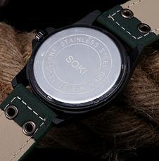 Стильные кварцевые мужские часы, фото 3