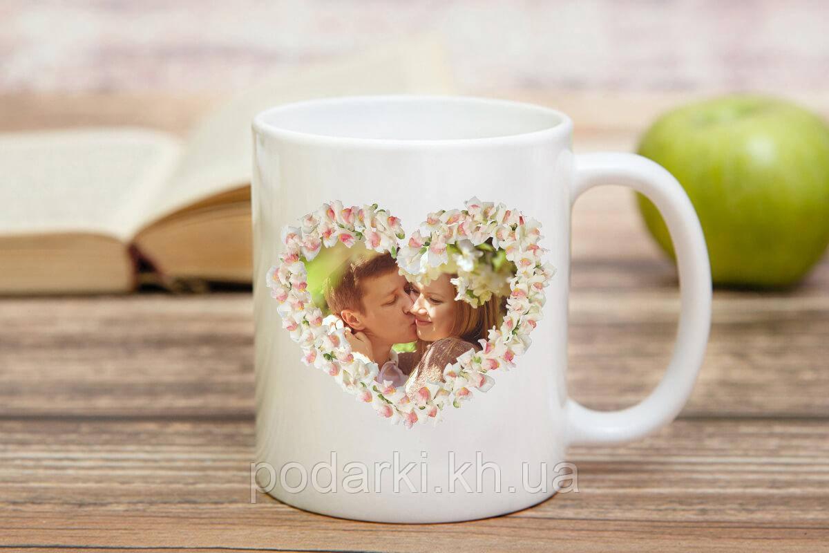 Кружка с фотографией пары
